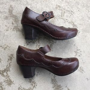 Dansko Steampunk Maryjane Clogs